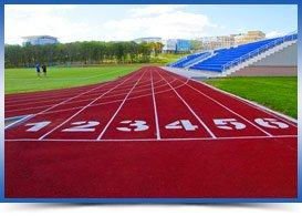 полимерные материалы для спортивных сооружений